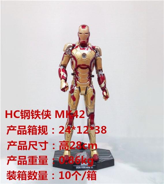 HC 钢铁侠 MK42手办